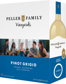 PELLER FAMILY VINEYARDS PINOT GRIGIO CASK 4 Litre