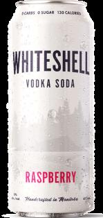 WHITESHELL VODKA SODA - RASPBERRY 473 ml