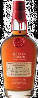 MAKER' S MARK MANITOBA LIQUOR MART BARREL#4 KENTUCKY STRAIGHT BOURBON WHISKEY 750 ml