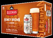 Sleeman Honey Brown Lager 15 x 355 ml