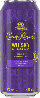 CROWN ROYAL WHISKY & COLA COCKTAIL 473 ml