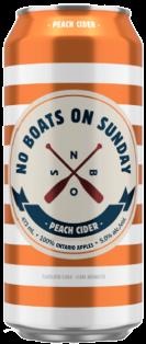 NO BOATS ON SUNDAY PEACH CIDER 473 ml