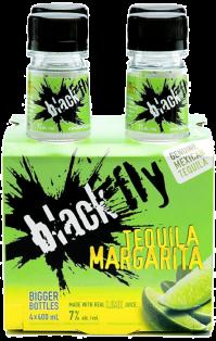 BLACK FLY TEQUILA MARGARITA 4 x 400 ml