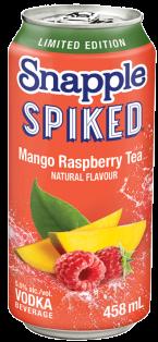 SNAPPLE - SPIKED MANGO RASPBERRY TEA 458 ml