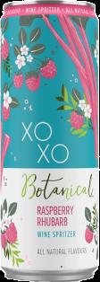 XOXO BOTANICAL RASPBERRY RHUBARD WINE SPRITZER 355 ml