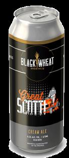 BLACK WHEAT BREWING - GREAT SCOTT! CREAM ALE 473 ml