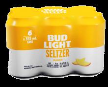 BUD LIGHT MANGO SELTZER 6 x 355 ml