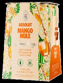 ABSOLUT MANGO MULE 4 x 355 ml