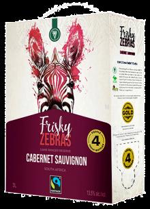 FRISKY ZEBRAS GAME RANGER RESERVE CABERNET SAUVIGNON 3 Litre