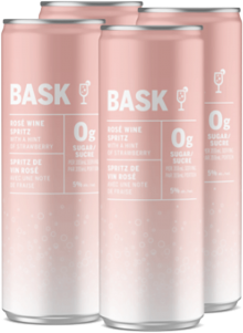 BASK ROSE WINE SPRITZ 4 x 355 ml