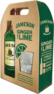 Jameson Irish Whiskey Gift Pack 750 ml