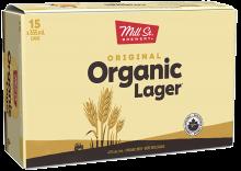 Mill Street Brewing - Original Organic Lager 15 x 355 ml