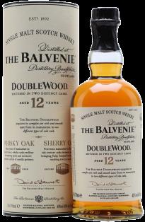 The Balvenie Doublewood 12 Year Single Malt Scotch Whisky 750 ml