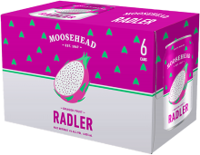 MOOSEHEAD DRAGON FRUIT RADLER 6 x 355 ml