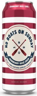 No Boats on Sunday Cranberry Rose Cider 473 ml