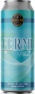 OXUS BREWING - FERMI PILSNER 473 ml