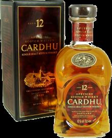 Cardhu 12 Year Old Single Malt Scotch 750 ml