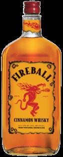 Fireball Red Hot Cinnamon Whisky 750 ml