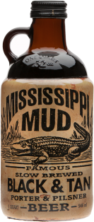 Mississippi Mud Black & Tan Slow Brewed Beer 946 ml
