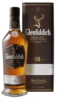 Glenfiddich Small Batch 18 Year Single Malt Scotch Whisky 750 ml