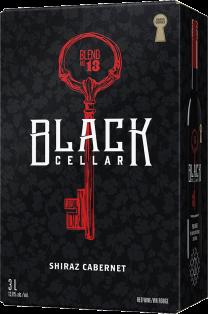 Black Cellar Blend 19 Shiraz Cabernet 3 Litre