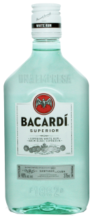 Bacardi Superior White Rum 375 ml