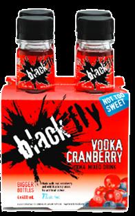 Black Fly - Vodka Cranberry 4 x 400 ml