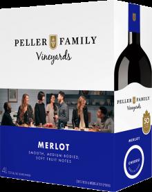 PELLER FAMILY VINEYARDS MERLOT CASK 4 Litre