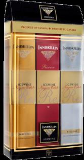 Inniskillin Mixed Case Cabernet Franc, Vidal, Riesling Icewine VQA 3 x 50 ml