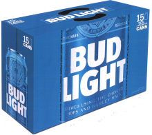 Bud Light 15 x 355 ml