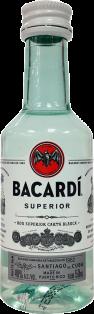 Bacardi Superior White Rum 50 ml