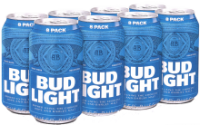 Bud Light 8 x 355 ml