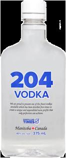 204 Spirits Vodka 375 ml