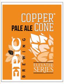 Epic Brewing Company Copper Cone Pale Ale 650 ml