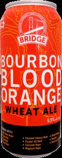 Bridge Brewing Bourbon Blood Orange Wheat Ale 473 ml