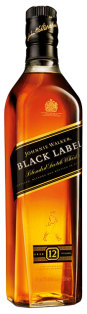 Johnnie Walker Black Label 12 Year Blended Scotch Whisky 750 ml