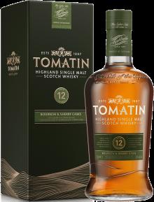 Tomatin 12 Year Highland Single Malt Scotch Whisky 750 ml