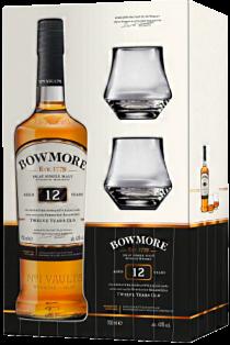 Bowmore 12 year Gift Pack 750 ml