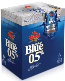 Labatt Blue 0.5% De-Alcoholized Pilsner