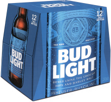 Bud Light 12 x 341 ml