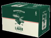 MOOSEHEAD LAGER 6/355C 6 x 355 ml