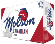 Molson Canadian 15 x 355 ml