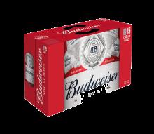 Budweiser 15 x 355 ml