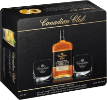 Canadian Club Classic Whisky Gift Pack 375 ml