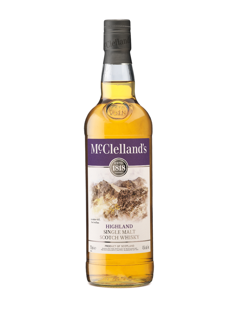 McClellands Highland Single Malt Scotch Whisky - 13034