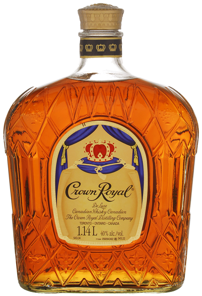 Crown Royal Deluxe Canadian Whisky 12182 Manitoba
