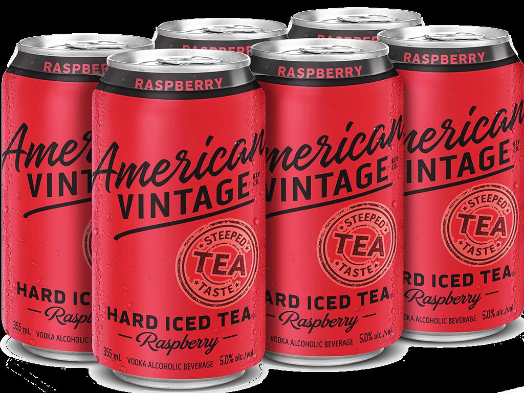 American Vintage Raspberry Hard Iced Tea 19956 Manitoba Liquor Mart
