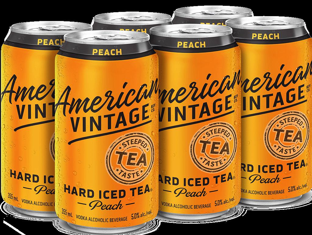 American Vintage Peach Hard Iced Tea 19957 Manitoba Liquor Mart