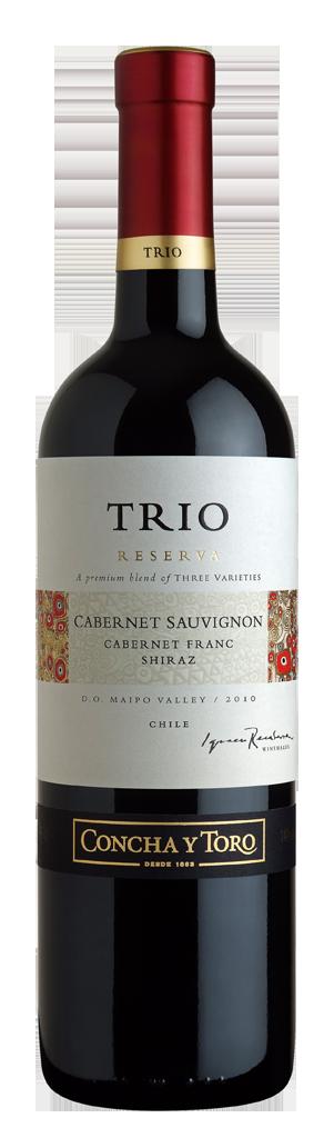 Concha Y Toro Trio Cabernet Sauvignon Franc