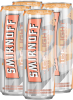 Smirnoff Ice Light White Peach & Soda 4 x 355 ml
